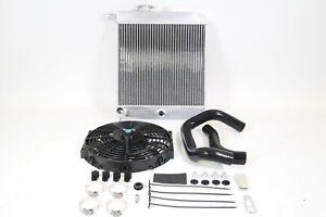 PLM Passenger Side Radiator Kit for KSWAP Honda Civic Acura Integra EG EK DC K20