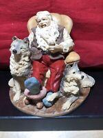 Legend of Santa Claus by United Design-SANTA, DUSK, & DAWN-Limited Edition 1995