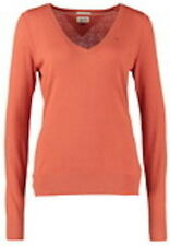 Tommy Hilfiger Damen Hayley V Hals Pullover koralle orange XL uk14/16 Knitwear SALE