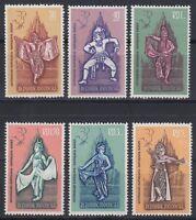 Indonesien Indonesia 1962 ** Mi.323/28 Ballett Ballet [sq4751]