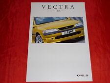 OPEL Vectra B i 500 Limousine Prospekt Brochure von 1998