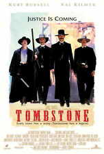 "TOMBSTONE Movie Poster [Licensed-NEW-USA] 27x40"" Theater Size (Kurt Russell)"
