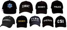 Cap  Hat Low Profile Law Enforcement Security Police SWAT EMT  Supreme Rothco
