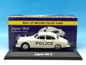 ATLAS JAGUAR MK II BEDFORDSHIRE POLICE 1/43