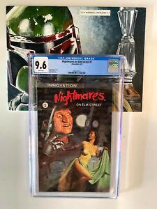 Nightmares On Elm Street #1 (09/91) CGC 9.6 WP Freddy Kruger