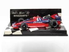 Modellini statici di auto da corsa Formula 1 rossi in pressofuso brabham