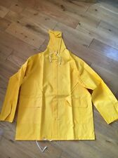 SMART GUARD PROTECTIVE 2 PIECE YELLOW COVERALLS SIZE SMALL <T6564