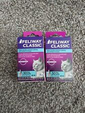 2 X Feliway Classic Refill Control for Cats 48 ml New exp 12/20