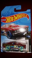 HOT WHEELS 2018 X-RAYCERS  #7/10 '69 CHEVELLE (RED)