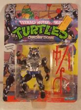 Teenage Mutant Ninja Turtles TMNT 1991 - Chrome Dome Unpunched (MOC)