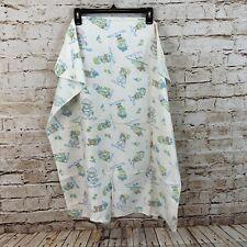 Babycare Baby Care Vtg Receiving Blanket nursery rhymes bo peep jack horner N3