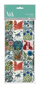1 Pack of De Morgan Tiles Tissue Paper Museums and Galleries
