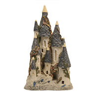 Vtg Hand Painted David Winter Fairytale Castle 1982 Scottish Collection Ceramic
