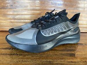 Mens Nike Zoom Gravity Black & Cool Grey Running Shoes BQ3202-004 Size 12