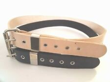 """1.1/2"""" W WORK BELT THICK HEAVY DUTY REAL LEATHER TOOL..HAND MADE MEN WOMEN"""
