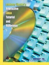 New Computer Book & CD Addison Wesley Interactive Linux Tutorial Ref 2002 Spiral