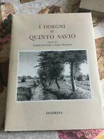I disegni di Quinto Savio nato ad Arborio + catalogo opere e cofanetto Diapress