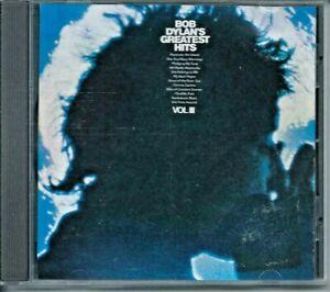 "BOB DYLAN  ""GREATEST HITS VOL. III "" 1967 / 94 COMPILATION CD LIKE NEW"