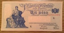 Argentina Uncirculated Banknote. One Peso. P257.