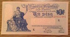 Uncirculated banknote. un Peso Argentina. P257.