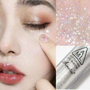 1pcs Diamond Glitter Eyeshadow Women Makeup Nude Shimmer Liquid Eye Shadow