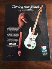 1993 8X11 PRINT Ad YAMAHA ATTITUDE LIMITED MARK II GUITAR BILLY SHEEHAN MR BIG