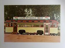 JOHN BAEDER, Original Silkscreen, Lisi's Pittsfield Diner, Hand Signed  Numbered