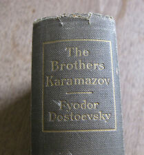 THE BROTHERS KARAMAZOV by Fyodor Dostoevsky - early US  Macmillan  HC 1923 -rare
