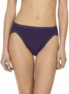 Natori Women's Bliss French Cut Panty Deep Purple M