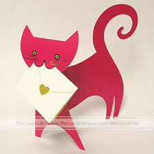 """3D Special Delivery Greeting Card - Cat """"Ruby"""" - SD-025"""