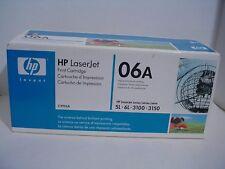 Genuine HP LaserJet Print Cartridge 06A  C3906A Microfine Black Toner  NEW
