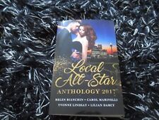 MILLS & BOON LOCAL ALL-STAR ANTHOLOGY 2017 LIKE NEW 4 IN 1 2017