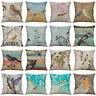 "18"" Vintage Brid Pillow Fo Home Decoration Waist Cushion Cover Pillow Case"