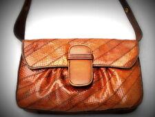 ITALIA borsa vintage bellissima rara originale in pelle di serpente