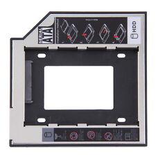 9.5mm Universal SATA 2nd HDD SSD Hard Drive Caddy for CD/DVD-ROM Optical Bay CA