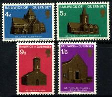 GUERNSEY - 1970 'CHRISTMAS CHURCHES' Series 1 Set of 4 MNH SG40-43 [B1012]