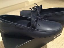 Firetrap Navy Laced Loafers/boat Shoes Size 4