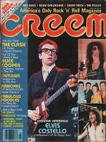 Creem May 1979 Elvis Costello, Cheap Trick, Bee Gees EX 010416DBE