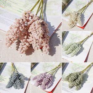 6pcs Natural Lavender Dried Flower Bunch Wedding Bouquet Garden Home Party Decor