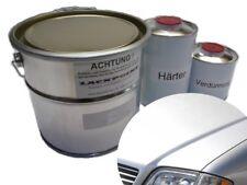 1,75 Liter Set 2K Autolack Mercedes 744 Silber Metallic kein Klarlack Trendlack