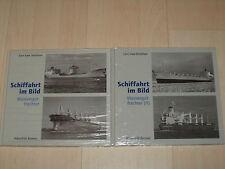 Sammlung Schiffahrt im Bild Massengutfrachter Band I und II Hardcover!