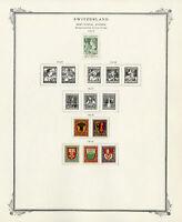 Switzerland Mint Stamp Variety Collection