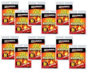 12 pr Grabber Heat Treat 6 hr TOE WARMER Gloves Boots Pocket Instant Heat