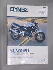 CLYMER Manual #353 Suzuki GSF1200 Bandit 1996-2003