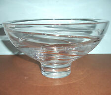 "Jasper Conran AURA by Wedgwood Large Footed Crystal Bowl 10"" (27Cm) New"