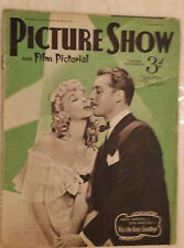 1941 PICTURE SHOW & Film Pictorial:MARY MARTIN & DON AMECHE Vol:45 No.1174