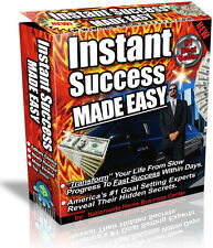 INSTANT SUCCESS MADE EASY  PDF EBOOK FREE SHIPPING RESALE RIGHTS