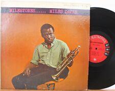 "Miles Davis LP ""Milestones"" ~ Columbia 1193 ~ 6 Eye DG Mono ~ Coltrane ~ CLEAN"