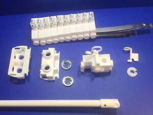 Vertical Blind Repair Kit Sunteca Track For Wand Control  Replacement Parts DIY