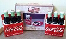 Coca-Cola Six Pack Salt and Pepper Shakers ~ ©2000 ~ The Coca-Cola Company